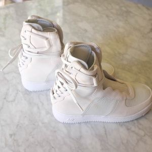 Nike Shoes - Women's White Air Force 1 Rebel Xx Lace-up Sneaker